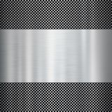 Shiny metal texture background Stock Image