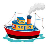 Illustration ship  Stock Photos
