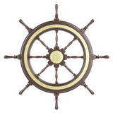 Illustration ship wheel Royalty Free Stock Photo