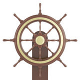 Illustration ship wheel Stock Photo