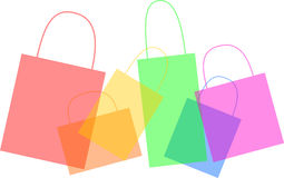 Illustration of Shopping bags Stock Image
