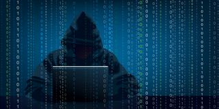 Free Illustration Showing A Hacker Who Steals Information From A Computer. Stock Photography - 167189622