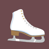 Illustration of a skates Royalty Free Stock Images