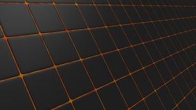 Skew black mosaic Royalty Free Stock Photography