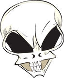 The skull Stock Images