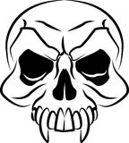 Illustration of a skull Royalty Free Stock Photo