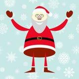 Illustration of smiling Santa Claus Royalty Free Stock Photo