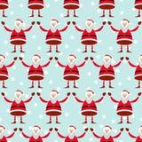 Illustration of smiling Santa Claus Stock Image