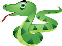 Illustration of snake Royalty Free Stock Photo
