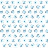 Snowflakes pattern New Year Christmas watercolor. Illustration Snowflakes pattern New Year Christmas watercolor vector illustration