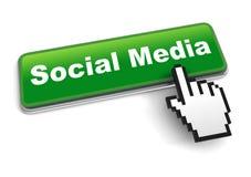 Illustration sociale du concept 3d de media d'isolement illustration de vecteur