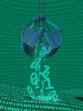 Bryta för data som är processaa Royaltyfri Foto