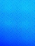 Illustration sous-marine de vecteur affiche océanique profonde Intérieur avec le regroupement Fond aqueux Couleurs bleu-clair Océ illustration stock