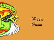 Illustration of South Indian Festival Onam background Royalty Free Stock Photography