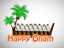 Illustration of South Indian Festival Onam background Royalty Free Stock Image