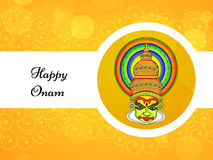 Illustration of South Indian Festival Onam background Stock Photos