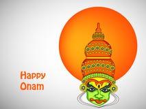 Illustration of South Indian Festival Onam background Stock Image