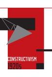 Illustration soviétique d'abrégé sur constructivisme les années 1920 illustration de vecteur
