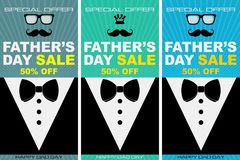 Illustration spéciale pour le jour de père, image de achat de remise illustration stock