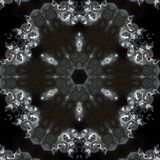 Illustration of a sparkling background of diamonds on a black background. Close-up Royalty Free Stock Photos