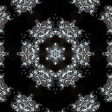 Illustration of a sparkling background of diamonds on a black background. Close-up Royalty Free Stock Photography
