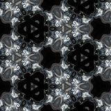 Illustration of a sparkling background of diamonds on a black background. Close-up Royalty Free Stock Photo