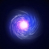 Illustration of a spiral galaxy Royalty Free Stock Images
