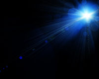 Illustration of spotlight Stock Photography