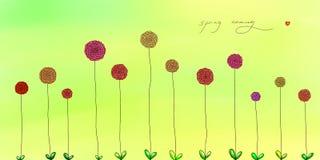 Illustration of spring flower Royalty Free Stock Image