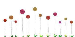 Illustration of spring flower Royalty Free Stock Photography