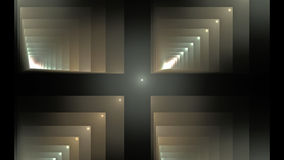 Illustration of squares rectangles and lines. The fractal visualization. Spatial shapes and lines. Symbolizes the eternal movement of time and space. Unknown Stock Photos