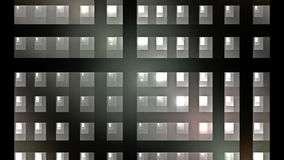 Illustration of squares rectangles and lines. The fractal visualization. Spatial shapes and lines. Symbolizes the eternal movement of time and space. Unknown Stock Image
