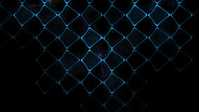 Illustration of squares rectangles and lines. The fractal visualization. Spatial shapes and lines. Symbolizes the eternal movement of time and space. Unknown Stock Photography