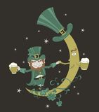 Illustration for St. Patrick's Day Royalty Free Stock Photos