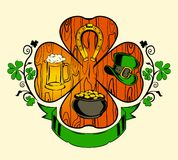 Illustration for St. Patrik's day Stock Image
