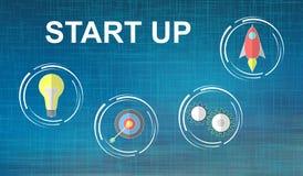 Concept of start up. Illustration of a start up concept vector illustration