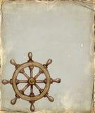 Illustration of steering wheel Stock Photo