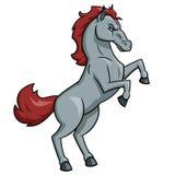 Horse mascot illustration Royalty Free Stock Images