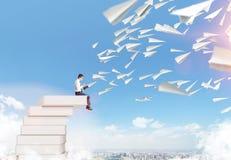Illustration_study onderwijs Royalty-vrije Stock Afbeelding