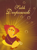 Illustration of subh deepawali Royalty Free Stock Photos