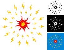 Illustration of sun stock illustration