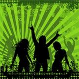 Illustration sur un thème musical   Photos libres de droits