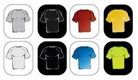 Illustration T-shirt Stock Images
