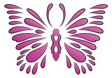 Tattoo butterfly spark Stock Photography