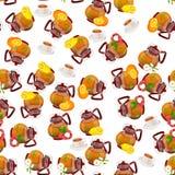Illustration of teapot Royalty Free Stock Photos