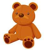 Illustration of Teddy bear Royalty Free Stock Photography