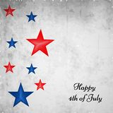 Illustration of 4th of July background. Illustration of elements of 4th of July background Stock Images