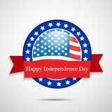 Illustration of 4th of July background Royalty Free Stock Image