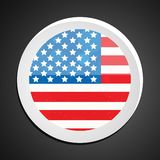 Illustration of 4th of July background Royalty Free Stock Images