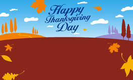 Illustration for thanksgiving day. Royalty Free Stock Photo